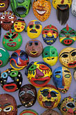 front view stock photography | South Korea, Andong , Mask Dance Festival, Masks, image id 2-702-55
