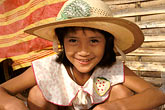 hat stock photography | Laos, Vientiane, Young girl, image id 8-551-16
