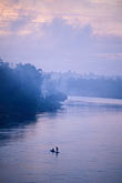 dusk stock photography | Laos, Vientiane Province, Fishermen on the Nam Ngum River, image id 8-571-41
