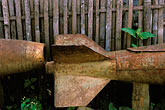 rusty stock photography | Laos, Plain of Jars, American bomb casing, Phonsavanh, image id 8-620-4