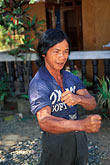 third world stock photography | Laos, Vientiane Province, Laotian veteran, Hinh Heub village, image id 8-630-6