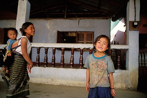image S3-154-4 Laos, Vientiane, Pi Mai Lao New Year Celebration