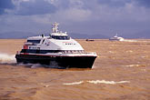 boat stock photography | Macau, Turbo ferry approaching Macau from Hong Kong, image id 5-382-25