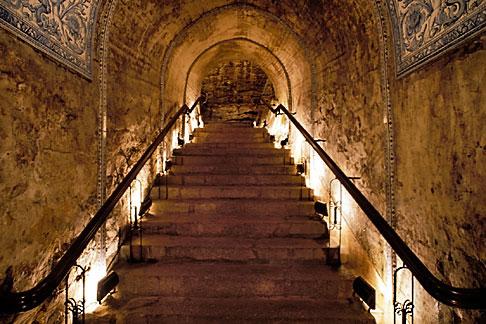 image 5-384-18 Macau, Pousada de Sao Tiago, entrance