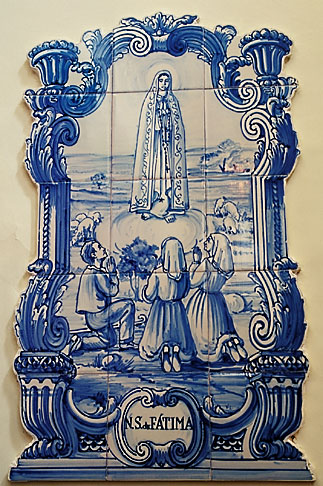 image 5-394-27 Religious Art, Tile, Our Lady of Fatima