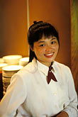 smile stock photography | Macau, Waitress,Balichao restaurant, image id 5-411-6