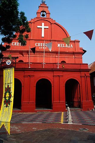 image 7-575-14 Malaysia, Malacca, Christ Church