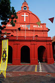 plaza stock photography | Malaysia, Malacca, Christ Church, image id 7-575-14