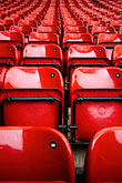 vertical stock photography | England, Manchester, Old Trafford, Stadium for Manchester United, seats, image id 7-690-7108