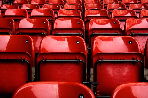 image 7-690-7111 England, Manchester, Old Trafford, Stadium for Manchester United, seats
