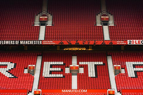 image 7-690-7131 England, Manchester, Old Trafford, Stadium for Manchester United