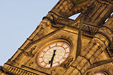 town hall clock tower stock photography | England, Manchester, Town Hall clock tower, image id 7-690-7196