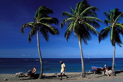 image 8-264-21 Martinique, Route des Anses, Beach, Petite Anse