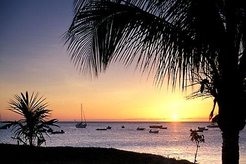 image 8-275-35 Martinique, Schoelcher, Sunset at beach