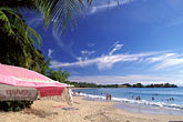 beach umbrella stock photography | Martinique, Anse des Salines, Beach scene, image id 9-25-29