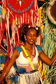 one woman only stock photography | Martinique, Carnaval, Dancer in parade, image id 9-30-84