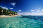 blue sky stock photography | Martinique, Cap Chevalier, Beach with blue water and sky, image id 9-36-73