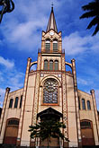 blue sky stock photography | Martinique, Fort de France, Cath�drale St. Louis, image id 9-50-2