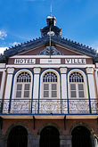 facade stock photography | Martinique, Fort de France, Hotel de Ville, image id 9-52-5