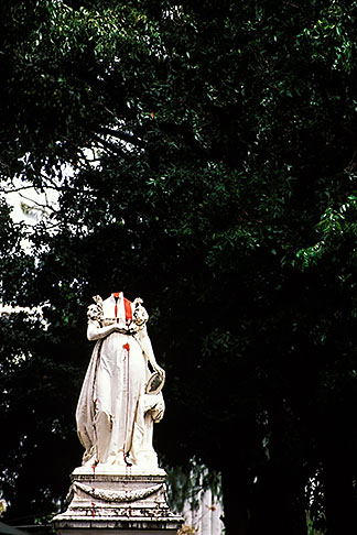 image 9-53-20 Martinique, Fort de France, Statue of Empress Josephine