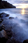 wave stock photography | Martinique, Sunset, Grand-Rivi�re, image id 9-60-2