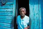 gaze stock photography | Martinique, Saint-Pierre, Old man, image id 9-71-12
