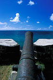 pointe du diable stock photography | Mauritius, French cannon, Pointe du Diable, image id 9-200-71