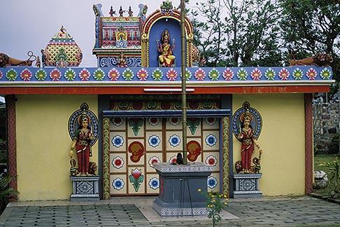 image 9-201-7 Mauritius, Tamil temple, Mahebourg
