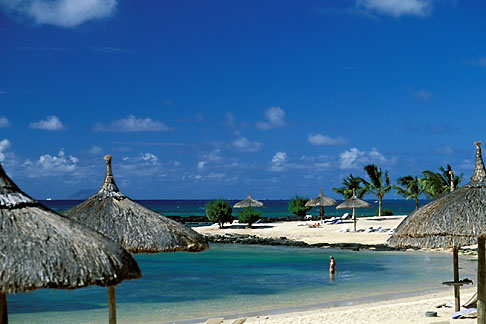 image 9-201-96 Mauritius, Beach and resort