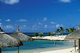 palapas stock photography | Mauritius, Beach and  resort, image id 9-201-96