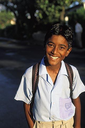 image 9-202-54 Mauritius, Schoolboy