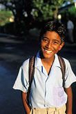 travel stock photography | Mauritius, Schoolboy, image id 9-202-54