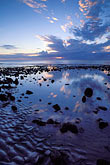 cloudy stock photography | Mauritius, Sunset, Tamarin Beach, image id 9-205-33