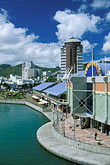 waterfront stock photography | Mauritius, Port Louis, Le Caudan Waterfront, image id 9-210-11