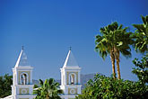 whitewashed building stock photography | Mexico, San Jos� del Cabo, Iglesia de San Jos�, image id 0-40-20