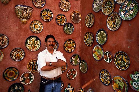 image 0-40-9 Mexico, San Jose del Cabo, Art Gallery
