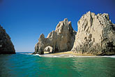 waves stock photography | Mexico, Cabo San Lucas, El Arcos, Land