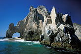 bluff stock photography | Mexico, Cabo San Lucas, El Arcos, Land