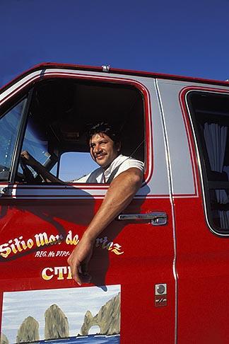 image 0-52-66 Mexico, Cabo San Lucas, Taxi driver