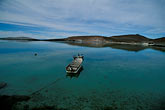 mooring stock photography | Mexico, Baja California Sur, Pelicans and fishing boat, Sea of Cortez, image id 0-61-57