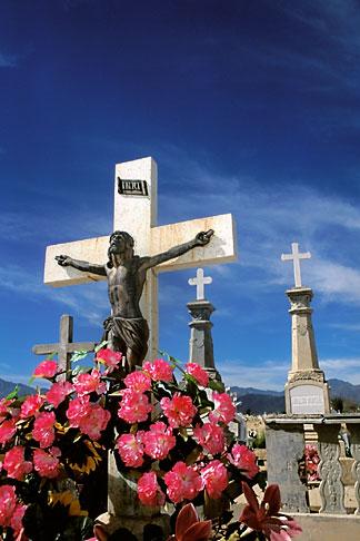 image 0-66-12 Mexico, Santiago, Baja California Sur, Cemetery