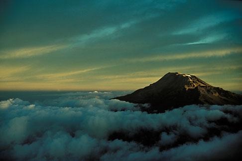 image 1-5-18 Mexico, Ixtaccihuatl at dawn
