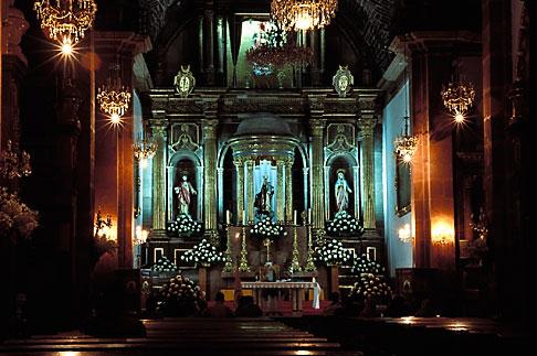 image 4-262-11 Mexico, San Miguel de Allende, Interior, La Parroquia church