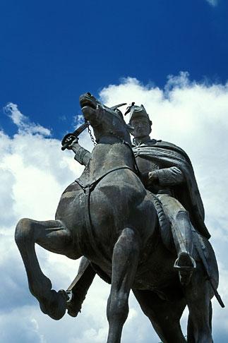 image 4-278-9 Mexico, San Miguel de Allende, Statue of Ignacio Allende