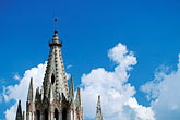 tower stock photography | Mexico, San Miguel de Allende, Steeple of La Parroquia de San Miguel, image id 4-280-13