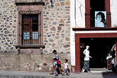 three girls stock photography | Mexico, San Miguel de Allende, Shop scene, Calle Zacateros, image id 4-281-35