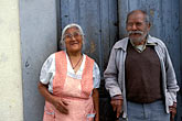 two mature men stock photography | Mexico, San Miguel de Allende, Do�a Amparo Juarez & Don Felipe, image id 4-287-13