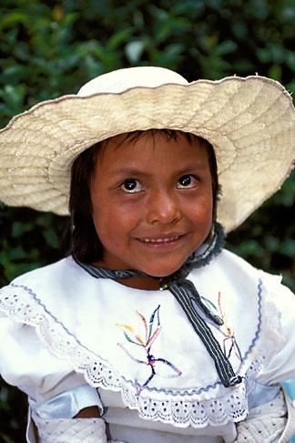 image 4-290-23 Mexico, San Miguel de Allende, Young girl