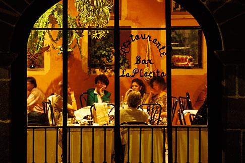 image 4-293-16 Mexico, San Miguel de Allende, Restaurant, Hotel de San Francisco