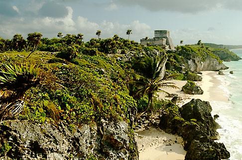 image 4-850-2714 Mexico, Yucatan, Tulum, El Castillo